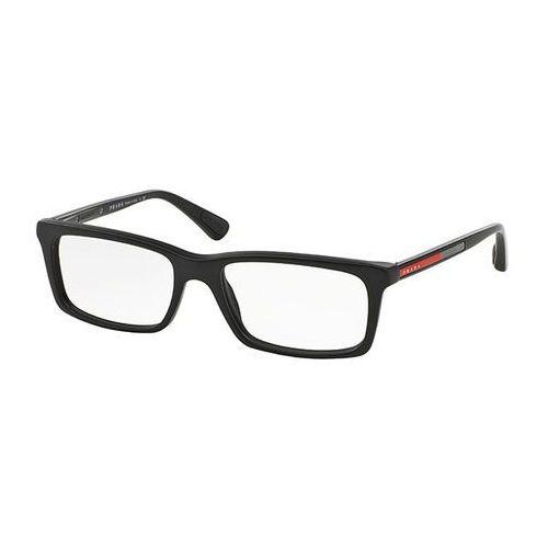 Prada linea rossa Okulary korekcyjne ps02cv 1bo1o1