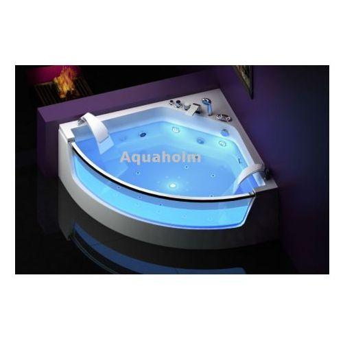 Wanna cf-3131 narożna 150cmx150cmx59cm chromoterapia marki Aquaholm