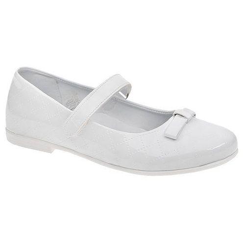 Balerinki Lakierki Buty KORNECKI 4431 Białe - Biały