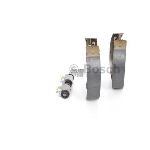 BOSCH KIT SUPERPRO, zestaw szczek hamulcowych + cylinderek hamulca koła; zamontowany; z tyłu, 0 204 114 677, BOSCH 0204114677
