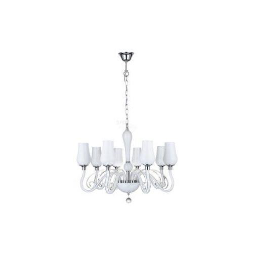 Lampa wisząca zwis Spot Light Lutecja 8x40W E14 biały 9150802 (5901602318546)