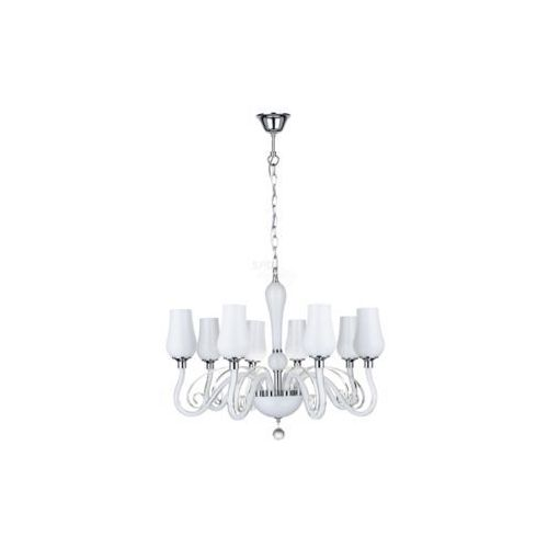 Spotlight Lampa wisząca zwis spot light lutecja 8x40w e14 biały 9150802