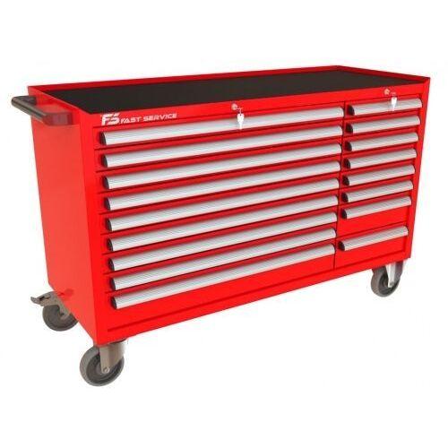 Wózek warsztatowy mega z 17 szufladami pm-211-12 marki Fastservice
