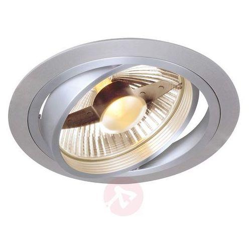 Slv Piękny reflektor wpuszcz new tria okrągły qrb111