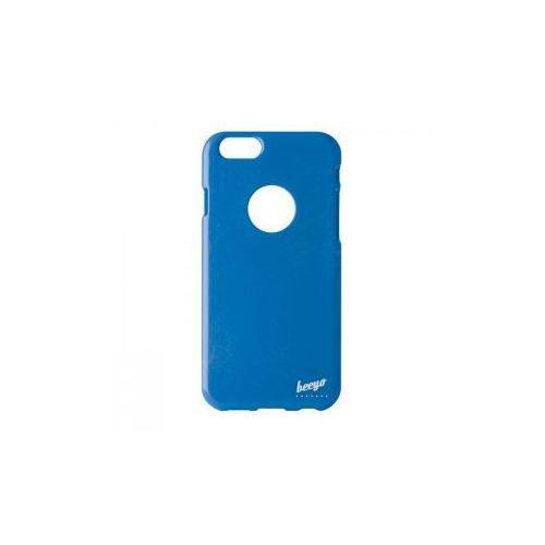 Brokatowa nakładka etui beeyo spark do iphone 6 / 6s niebieska od producenta Telforceone