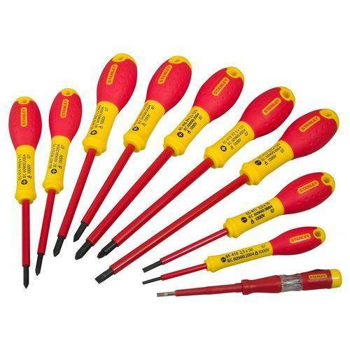zestaw wkrętaków fatmax 10szt. (dla elektryków pł,pz) 62-573 marki Stanley