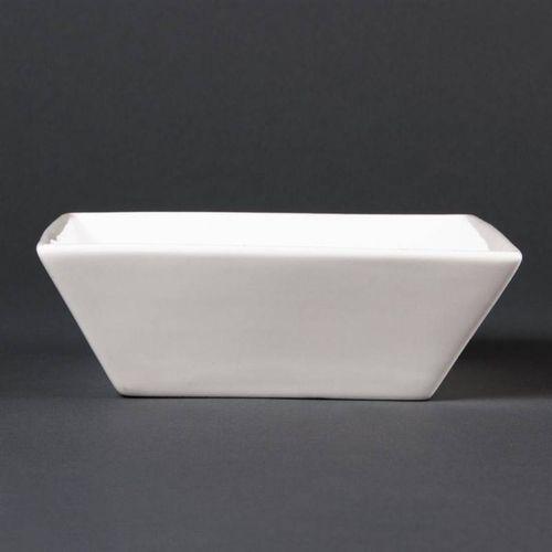Lumina fine china Miska porcelanowa kwadratowa | 6 szt. | 14x14xm