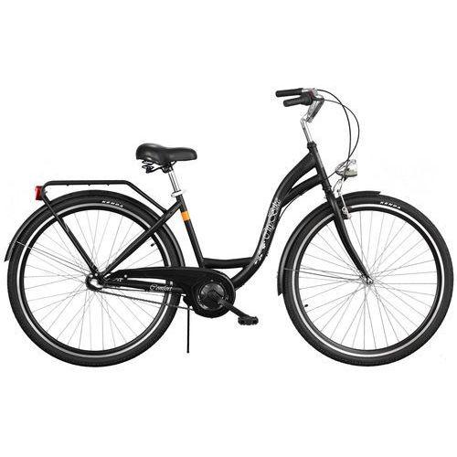 Rower DAWSTAR Citybike S3B Czarny + DARMOWY TRANSPORT! + Zamów z DOSTAWĄ JUTRO! + 5 lat gwarancji na ramę!