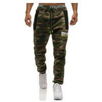 Spodnie męskie dresowe joggery multikolor Denley 3781C, dresowe