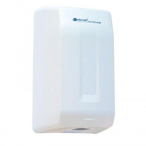 elektryczna suszarka do rąk smartflow, abs, biała marki Merida