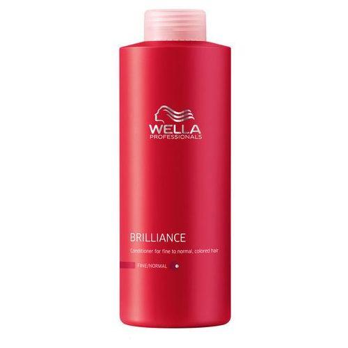 Wella brilliance odżywka do włosów cienkich i normalnych 1000ml marki Artdeco