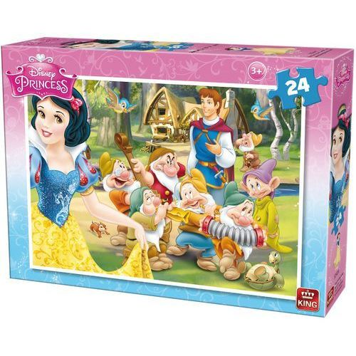 22-005242A Puzzle Królewna Śnieżka - wizyta Księcia - PUZZLE DLA DZIECI