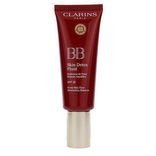 Clarins BB Skin Detox Fluid SPF25 45ml W Krem do twarzy BB Tester 03 Dark, kup u jednego z partnerów