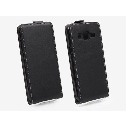 Samsung Galaxy J3 (2016) - etui na telefon Forcell Slim Flexi - czarny, ETSM323ELFXBLK000
