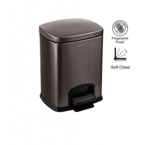 kosz pedałowy premium, prostokątny, 5l / grafit metalik 20.20305-b marki Stella