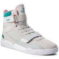 Sneakersy - breaker 05893-057-m lt grey/teal/white marki Supra