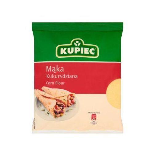Mąka kukurydziana 400 g Kupiec z kategorii Mąki