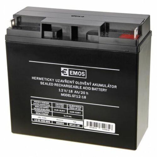 Emos pl sp. z o.o. Akumulator ołowiowy agm 12v 18ah 12x12 b9655