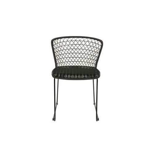 Be Pure Zestaw dwóch krzeseł Quadro, kolor czarny 800578-Z (8714713062492)