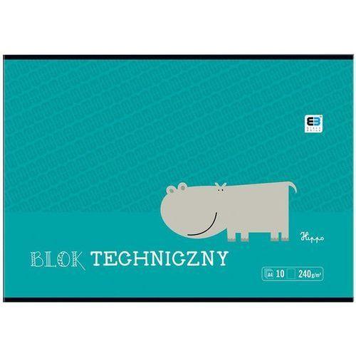 Interdruk Blok techniczny  a4 bb kids 10k biały (5902277236906)