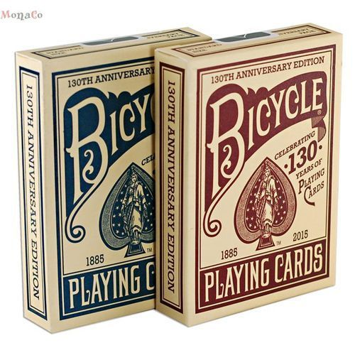 Uspcc - u.s. playing card compa Karty bicycle 130th anniversary - uspc karty bicycle 130th anniversary - uspc