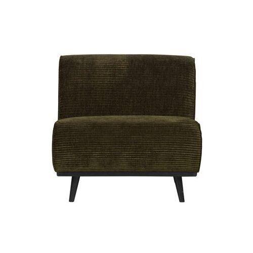 krzesło statement rib ciepła zieleń 378654-w marki Be pure