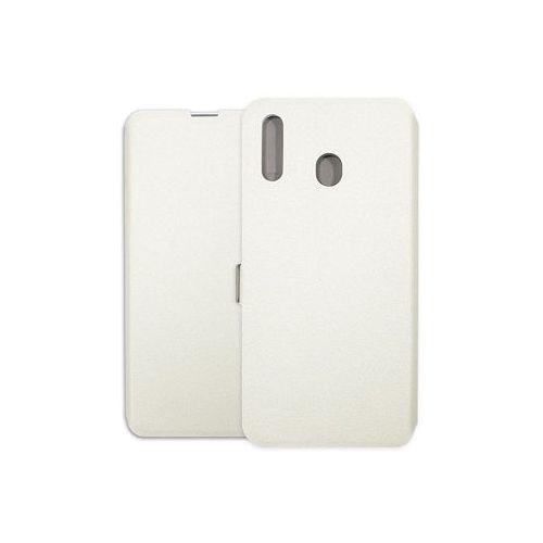 Samsung Galaxy M20 - etui na telefon Wallet Book - biały, kolor biały