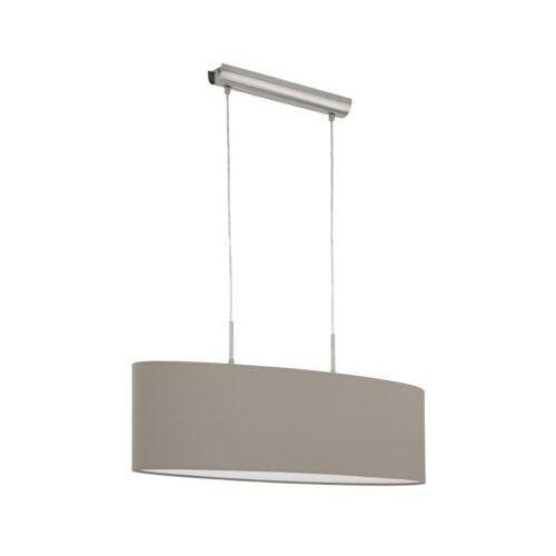 Eglo 31581 - lampa wisząca pasteri 2xe27/60w/230v