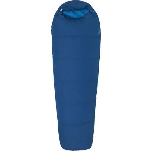 Marmot nanowave 50 semi rec sleeping bag long, estate blue left zipper 2019 śpiwory (0889169429132)