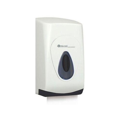 Pojemnik na papier toaletowy w listkach top, okienko szare, tył szary marki Merida