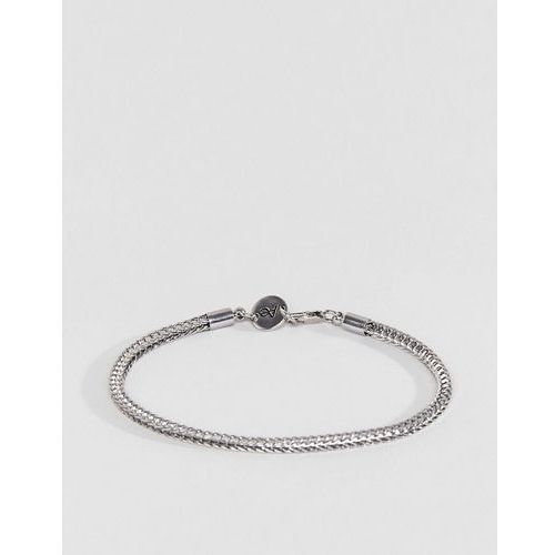 Aetherston link chain bracelet in antique silver - silver