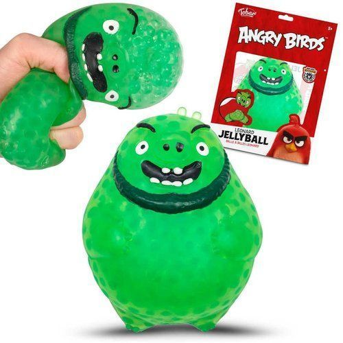 Majdan zabawek Angry birds jellyball - leonard