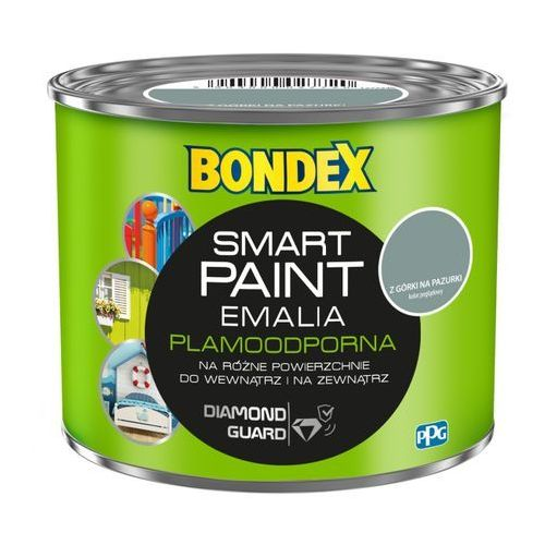 Emalia akrylowa Bondex Smart Paint z górki na pazurki 0,5 l