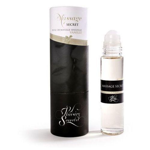 Plaisirs secrets Olejek do masażu - massage oil waniliowy