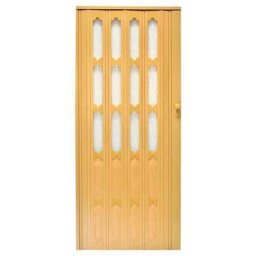 Drzwi Harmonijkowe 007 Jasny Dąb Mat 86 cm, GK-0157