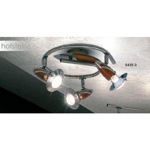 Globo earl reflektor stal nierdzewna, ciemne drewno, 3-punktowe - nowoczesny/design/klasyczny - obszar wewnętrzny - earl - czas dostawy: od 4-8 dni roboczych (9007371159741)