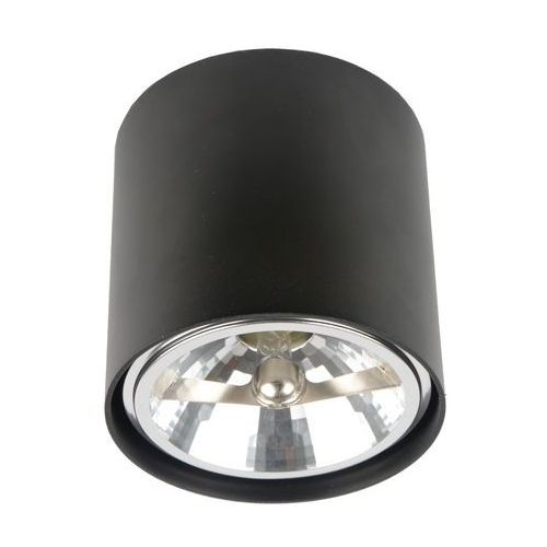 Spot LAMPA sufitowa BOX 50630 Zumaline halogenowa OPRAWA aluminiowa minimalistyczna okrągła regulowana czarna, 50630