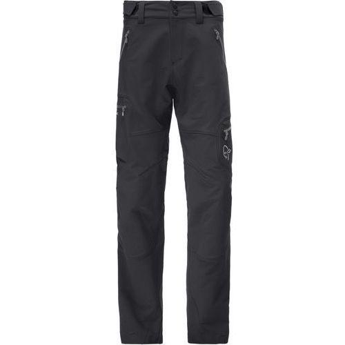Norrøna Svalbard Flex1 Spodnie długie Mężczyźni czarny S 2018 Spodnie Softshell (7042698329820)