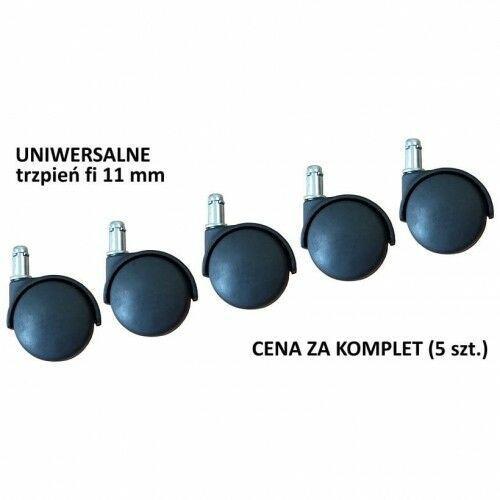 Uniwersalne kółka do krzesła lub fotela - trzpień o śr. 11 mm marki Stema