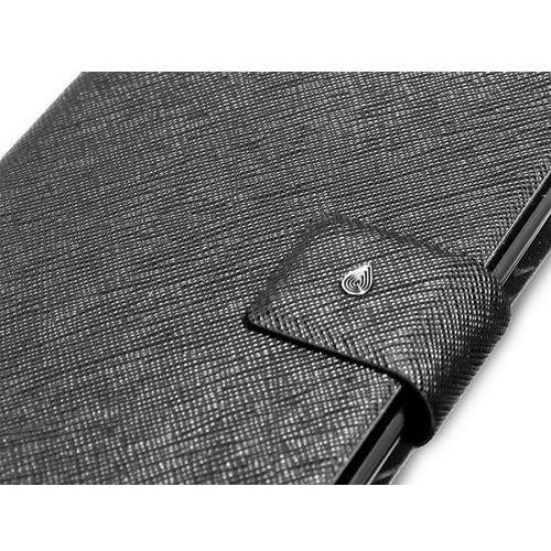 PURO Booklet - Etui Samsung GALAXY Note (czarny)