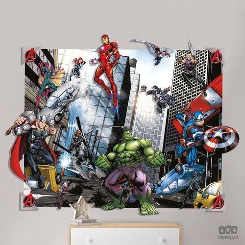 Walltastic Dekoracje ścienne 3d avengers 44562 (5060107044562)