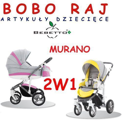 Wózek głęboko spacerowy firmy  model murano (2w1) marki Bebetto