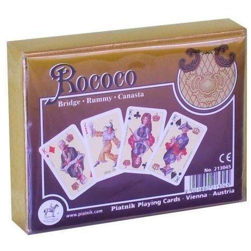 Karty do gry Piatnik 2 talie, Rokoko