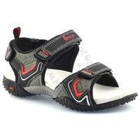 Sandały dla dzieci sc1617-4 - czarny ||szary marki American club