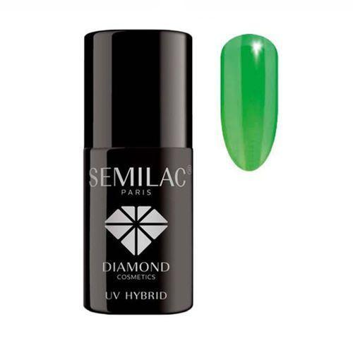 Semilac Uv hybrid lakier hybrydowy 041 caribbean green 7ml