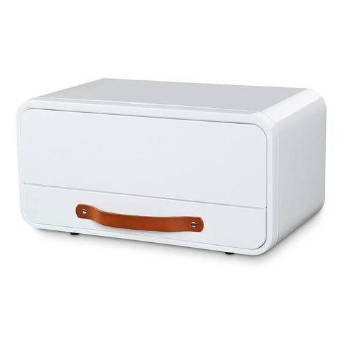 metalowy chlebak, 45 x 25,5 x 23 cm, biały, KU-0904002200 (11629350)