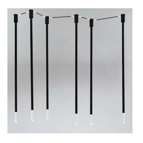 Lampa sufitowa alha n 9005/g9/cz/kolor metalowa oprawa downlight sople tuby marki Shilo