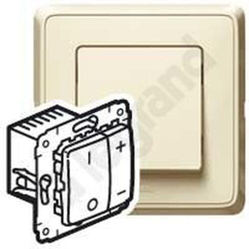 Cariva ściemniacz przyciskowy 40-600va kremowy 773715 marki Legrand