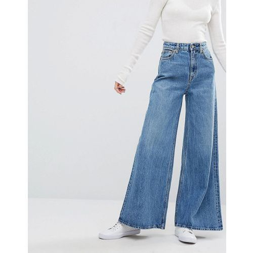 Weekday Ace HighWaist Wide Leg Jeans - Blue