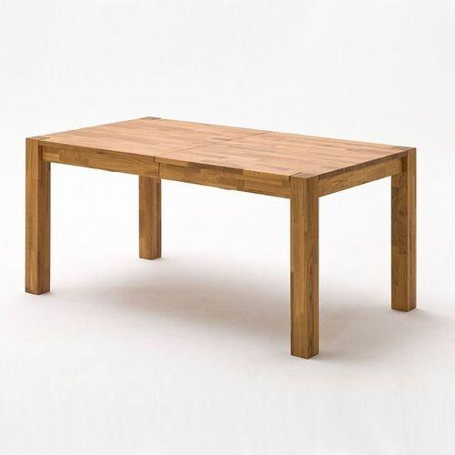 PATRICK stół rozkładany dąb lity dziki 140-220 cm